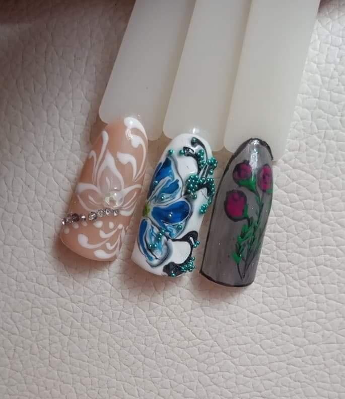 Изграждане на нокти